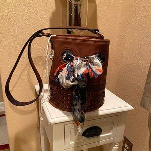 Anthropologie Holding Horses Luisa Bucket Bag